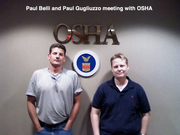 Paul and Paul at OSHA